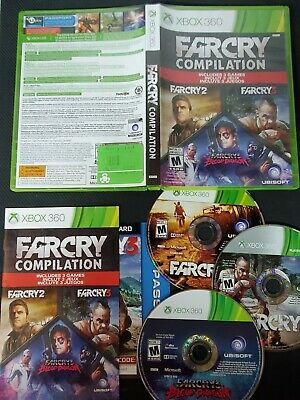 Far Cry Compilation Xbox 360 Brand New Factory Sealed 24 99 Picclick