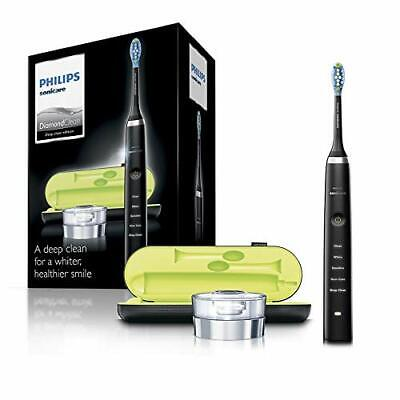 Philips Sonicare DiamondClean Electric Toothbrush, 2019 Edition, Black (UK 2-pin