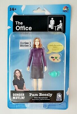 "New The Office PAM BEESLY 5/"" Series 1 Action Figure PhatMojo Rare HTF"