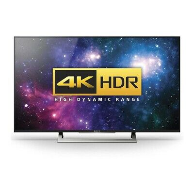 Sony BRAVIA KD49XD8088 Black 49inch 4K Pro HD HDR Smart LED Android Freeview