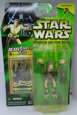 Star Wars 2000 POTJ Comme neuf on Card Fode and Beed podrace Figure armes HASBRO acheter