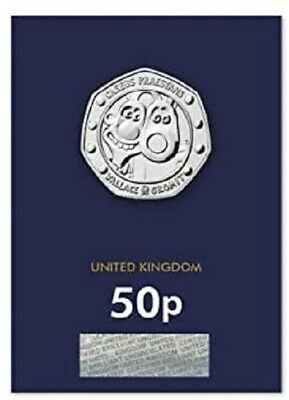 2019 Wallace And Gromit Bu Uncirculated 50P Fifty Pence - Official Uk Issue