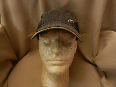 Paper Crew Uniform Hat from the 1970/'s Vintage McDonald/'s Mesh