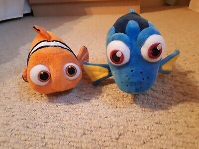Finding Nemo & Dory Soft Toys- Excellent Condition Disney Store