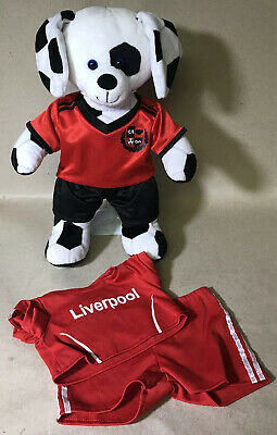 """Liverpool football kit for 16"""" build a bear// teddy mountain NEW free post"""