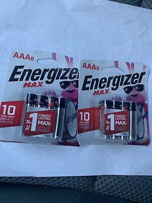 ENERGIZER E92MP-8 Energizer Max Alkaline AAA Battery, 8PK