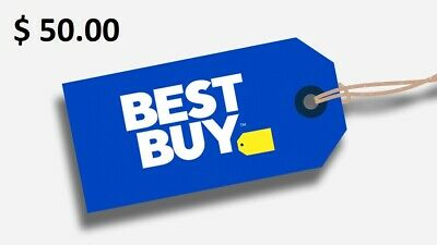 $50 Best Buy Gift Card FREE Shipping.