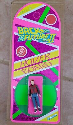 SDCC 2020 Super7 Hoverboard Back To The Future 2 ReAction Figure Marty McFly