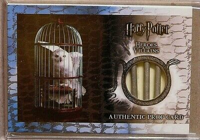 Harry Potter-SS-H&V-Screen Used-Relic-Movie-Film-Prop Card-Hedwig's Cage-107/130