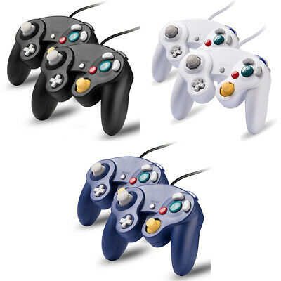 1/2 Pack Wired NGC Controller Gamepad for Nintendo GameCube GC Console US Seller