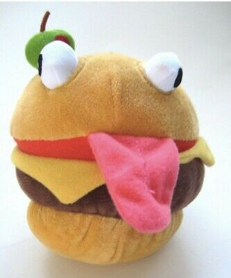 """FORTNITE - Durr Burger Plush Toy - From Epic Games & by Russ - 5"""" - 2019 - NEW"""