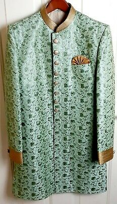 Vintage Asian Exquisite Embroidered Royal Military Ceremony Opera Wedding Coat
