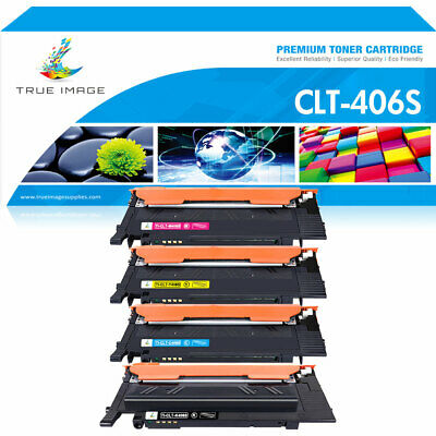 4x Color CLT-K406S Toner Compatible for Samsung CLP-365W CLX-3305FW Xpress C410W