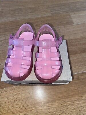 IGOR CLEAR AND Pink Jelly Shoes Size Eu