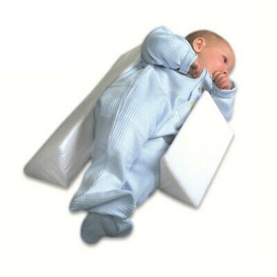 Newborn Infant Baby Side Sleep Pillow Support Wedge Adjustable Anti-roll Cushion