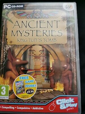 Hidden object PC game Ancient Mysteries King Tuts Tomb