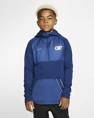 Nike Kids' Boys' XL CR7 Full-Zip Hoodie Top Jacket 158-170cm Age 13-15 BV6087