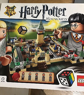 LEGO 3862 Harry Potter Hogwarts Board Game - With box and Instructions