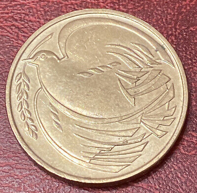 Bank Of England £2 Coin Two Pound 1995 Dove Of Peace Old Solid Version