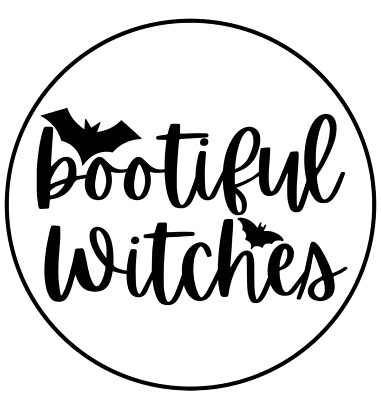 30 Unicorn Witch Halloween STICKERS Envelope Seals Labels Thank You Witch/'s Hat