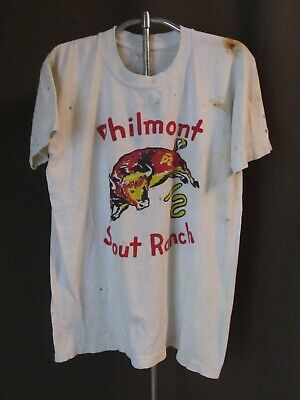 Vintage Boy Scout T shirt Philmont Scout Ranch 1960s