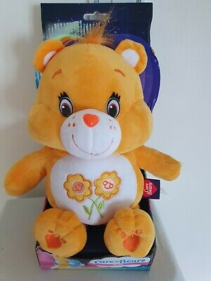 Care Bears 12 Inch Friend Bear Yellow Super Soft Plush Toy Brand New Boxed Retro