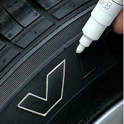 PAINT PEN 1pc White Marker Waterproof Permanent Car Tire Rubber Oil Based Letter