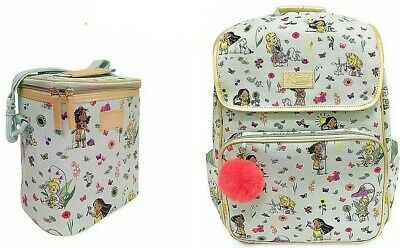 Disney Animators' Collection Backpack and matching Lunch Tote Box New NWT