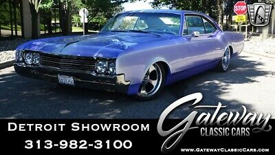 1966 Oldsmobile Eighty-Eight  Custom Purple 1966 Oldsmobile Dynamic 88 Coupe 425 CID 4BBL V8 2 Speed Automatic