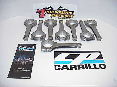 "8 NEW CARRILLO Connecting Rods 6.200""-.903"" Wide-.7094"" Wristpin NASCAR"