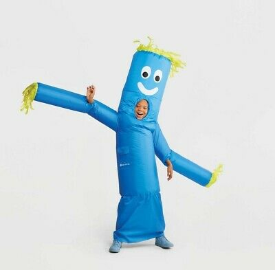 """""""New"""" Hyde and Eek 75"""" Inflatable Tube Man Child Halloween Costume, Morphsuits"""