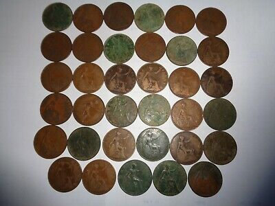 King George V 5th 35 Pennies Most Years from 1911 to  1936