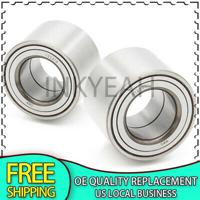 IRONTEK 516007x2 Rear Left /& Right Wheel Bearings FITS Ford 2000-2008 Focus Rear Drum Brakes ONLY 2PCS