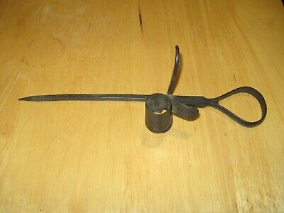 Miners Candlestick Holder Sticking Tommies