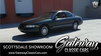 1998 Lincoln Mark Series VIII Charcoal Green Metallic  1998 Lincoln Mark  Actual Miles, Numbers Matching, Coup