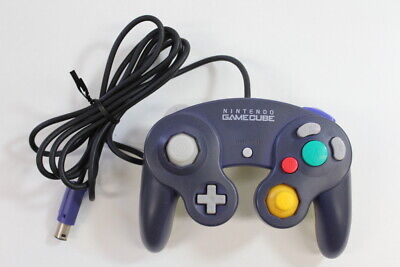 Official Nintendo GameCube Controller Purple x Clear Discolor TIGHT Switch GO053