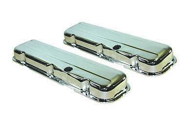 Specialty Chrome 7193 Steel Stock Height Valve Cover GM Inline-6
