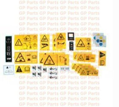 GS1530 Genie 44748GT GS1930 DECAL KIT SAFETY