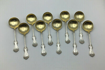 Duke of York by Whiting Sterling Silver Bouillon Soup Spoon 5