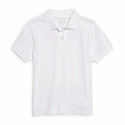 Small//5//6 The Childrens Place Boys Little Short Sleeve Uniform Oxford Shirt White 4765