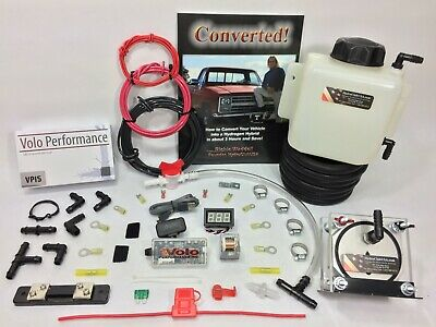 HHO Dry Cell Kit W/ Electronics Volo Chip HydroCell Electrolysis