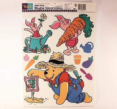 X 17 In One 12 In Sheet Winnie the Pooh Easter Window Clings Made in U.S. 1