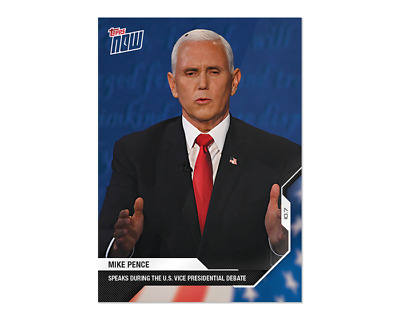 MIKE PENCE- Vice President D.J.Trump Pres. Business Card Governor of Indiana