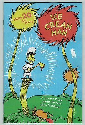 Seuss Cat in the Hat Homage Image Comics 2nd Ice Cream Man #20 Comic Dr