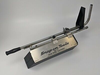 Snap-On WA121 Four Wheel Alignment Left Side Scale Part - as is vintage