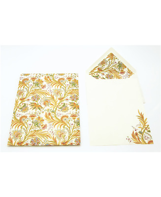 Package 10 Card 10 Bags 11x16 CM Lily By Kartos Decorated IN Gold