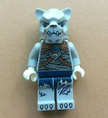 lot kg loc126 NEUF NEW Tiger warrior 2 Lego Chima figurine minifigurine