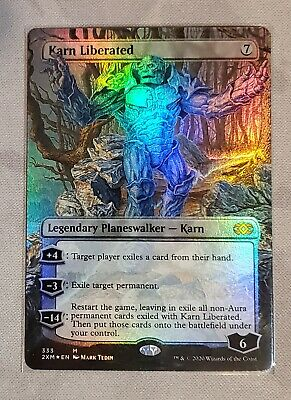 FOIL KARN LIBERATED Double Masters Planeswalker Magic MTG MINT CARD