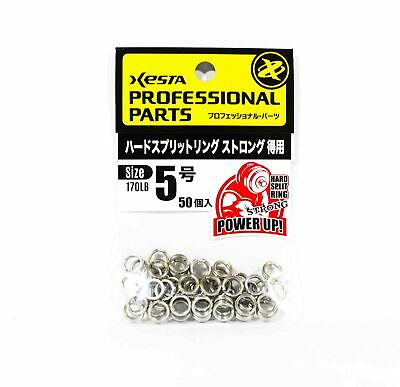 100 pieces 7272 Xesta Hard Split Rings Value Pack Yellow Package Size 4