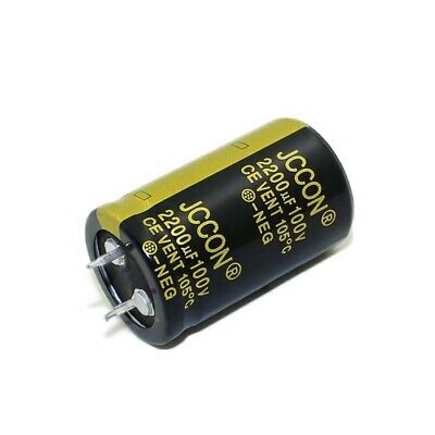 2200uF 100V Radial  Electrolytic Capacitor 85C